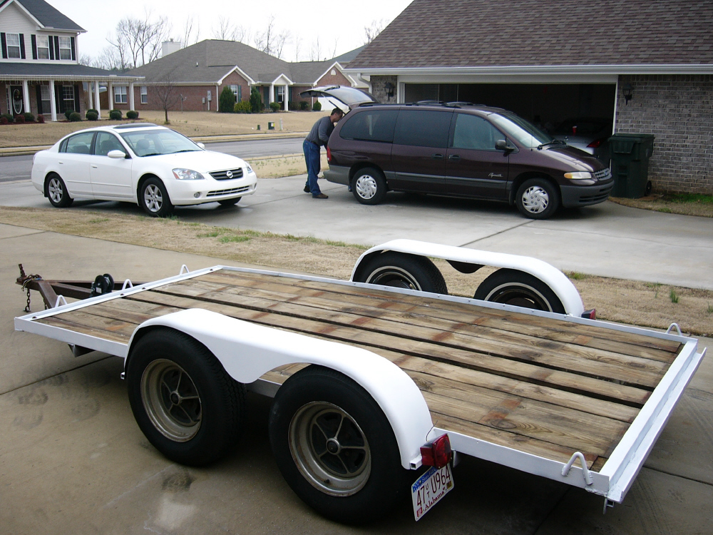 Small Car Utility Trailers